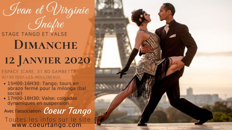 stage coeur tango